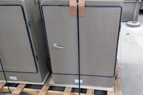 Electric enclosure ready to ship